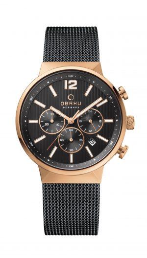 Dames horloge Obaku 129274 - Juwelen Marijke De Busser