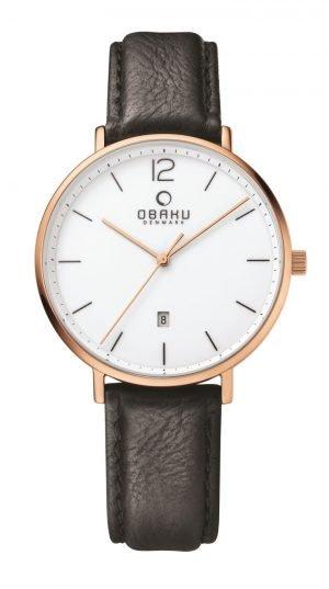 Dames horloge Obaku 129276 - Juwelen Marijke De Busser