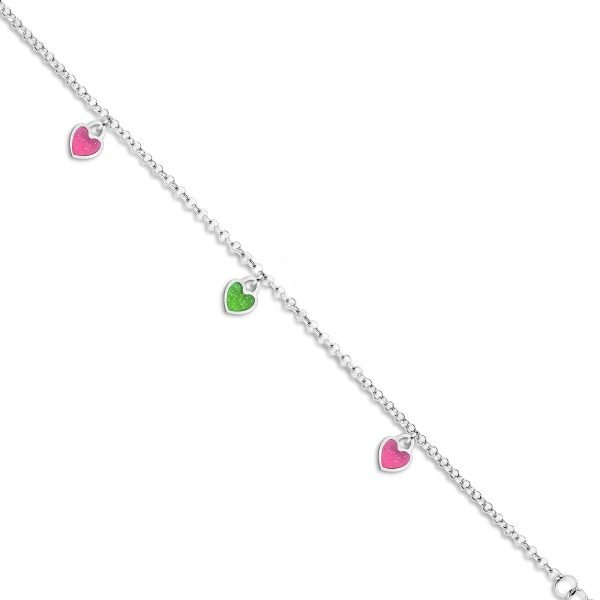 Zilveren kinder armband Naiomy Princess - Juwelen Marijke De Busser in Westerlo