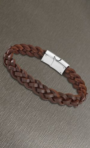 131020 armband leder - Juwelen Marijke De Busser in Westerlo